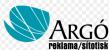 Logo firmy: ARGÓ reklama - sítotisk