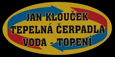 Logo firmy: Tepelná čerpadla, voda, topení - Jan Klouček