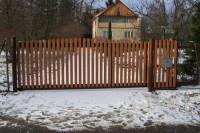 samonosná vjezdová vrata